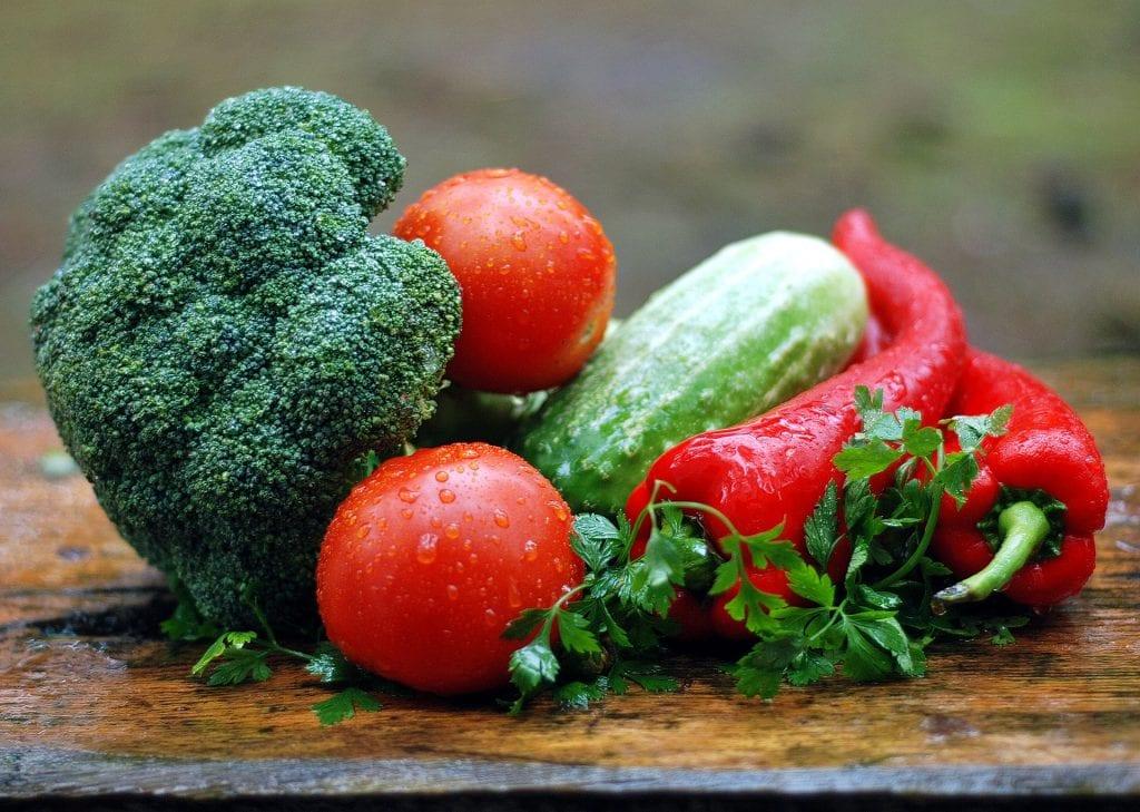Lavkarbo grønnsaker