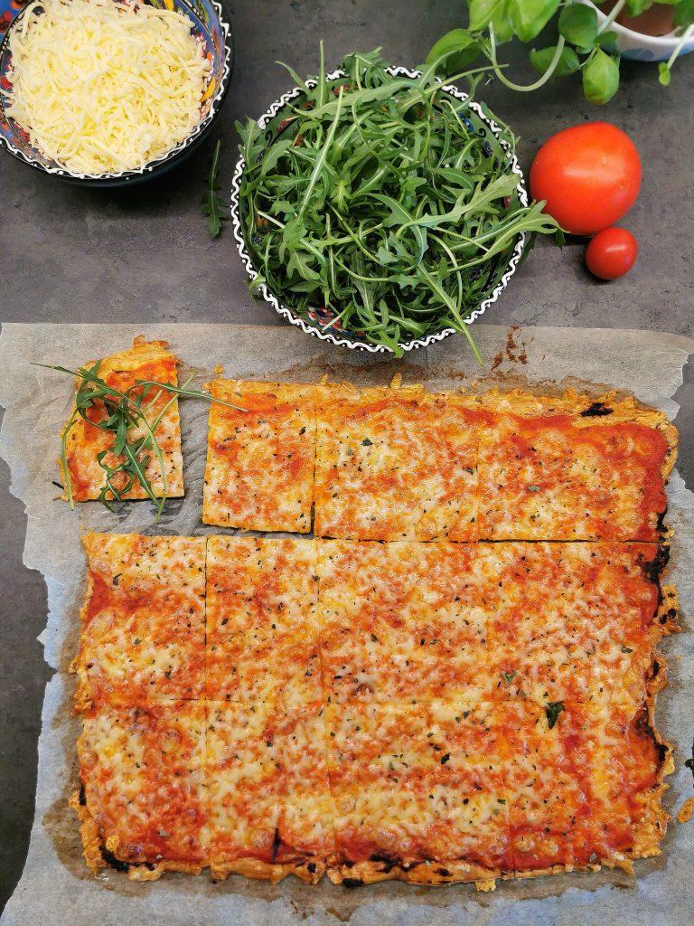 Lavkarbo pizza margherita