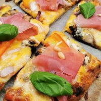Lavkarbo pizzasaus