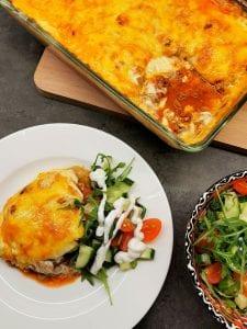 Keto lasagne med kål
