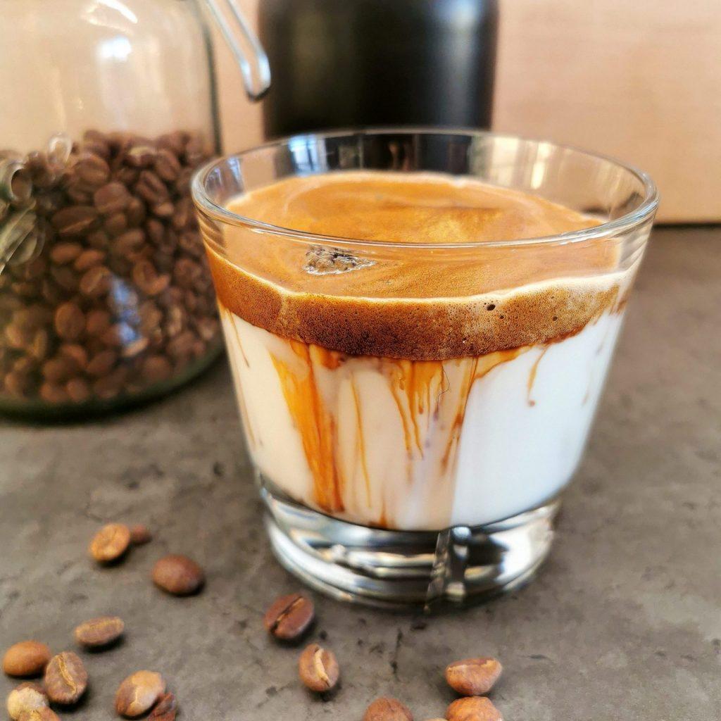 Lavkarbo dalgona kaffe
