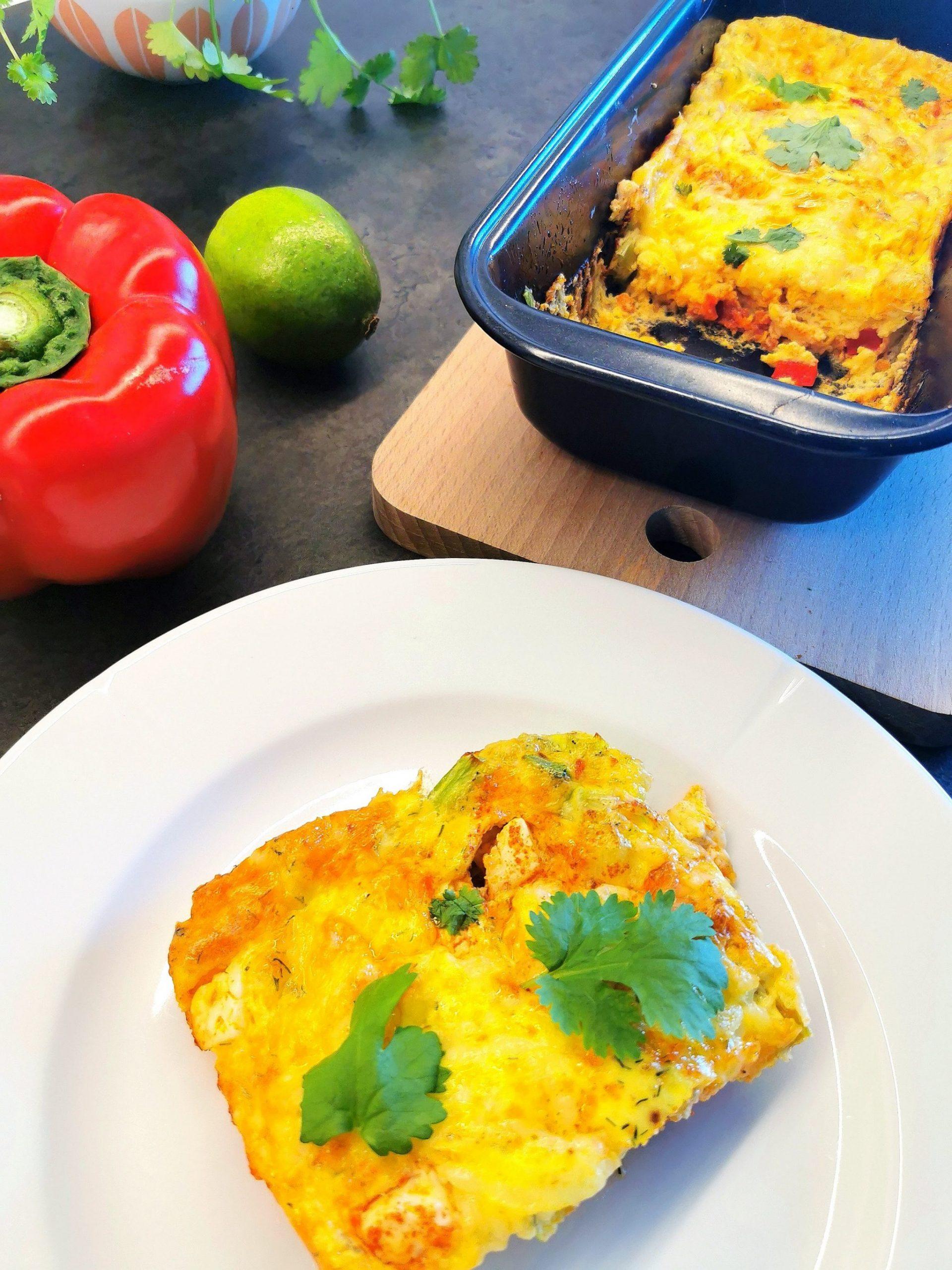 Omelett bakt i ovn