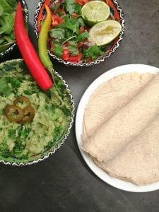 Lavkarbo tortillalefse