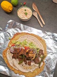 Lavkarbo kebabdressing