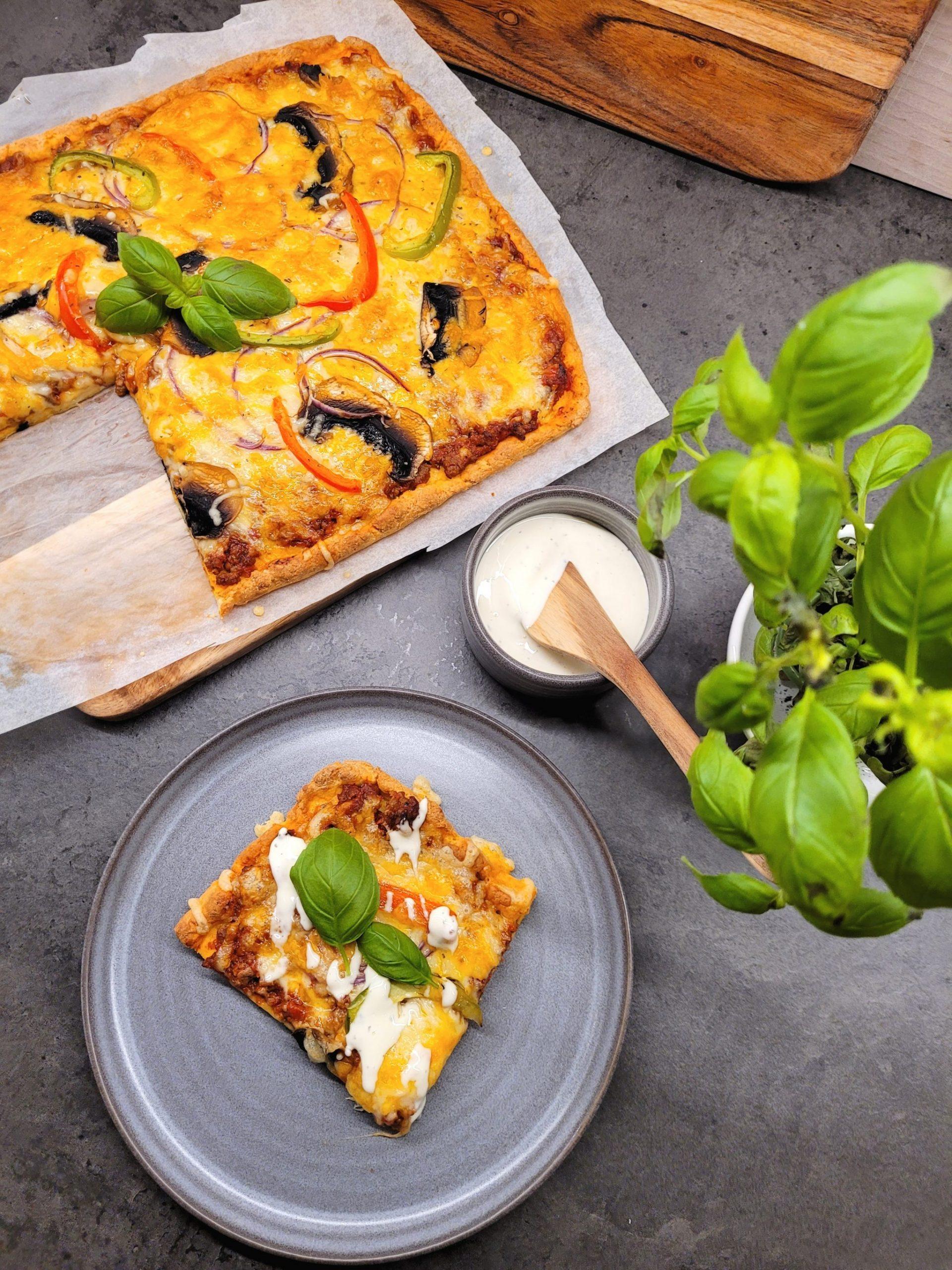 Lavkarbo hjemmelaget pizza