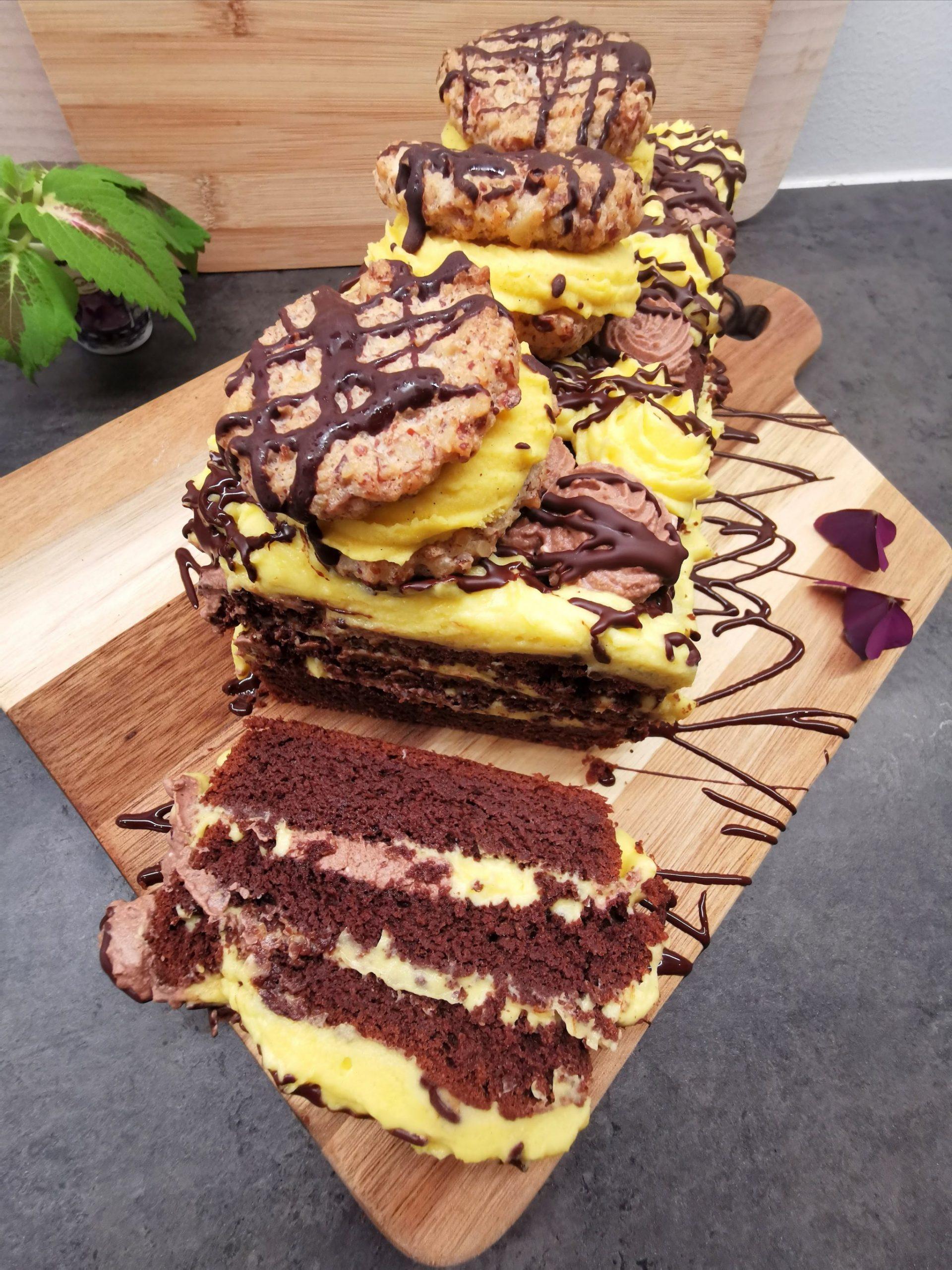 Lavkarbo sjokoladekakebombe