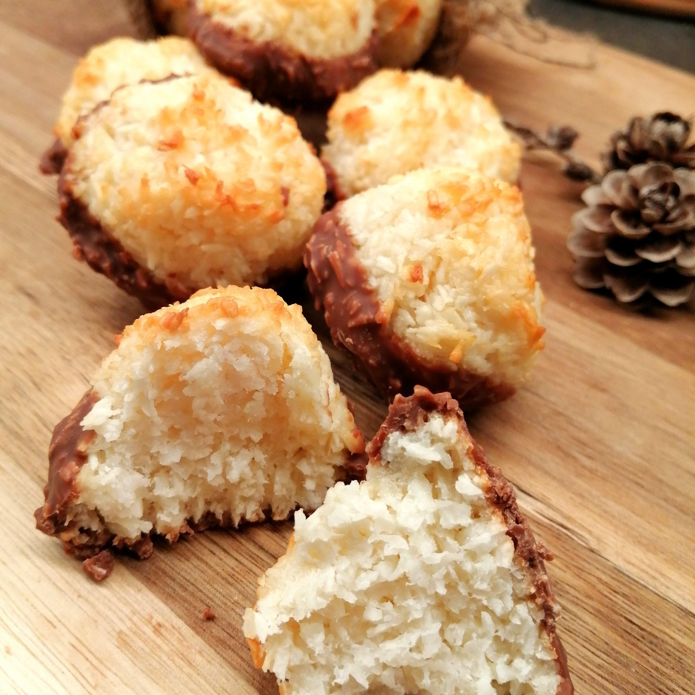 Lavkarbo kokosmakroner
