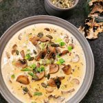 Lavkarbo kremet soppsuppe