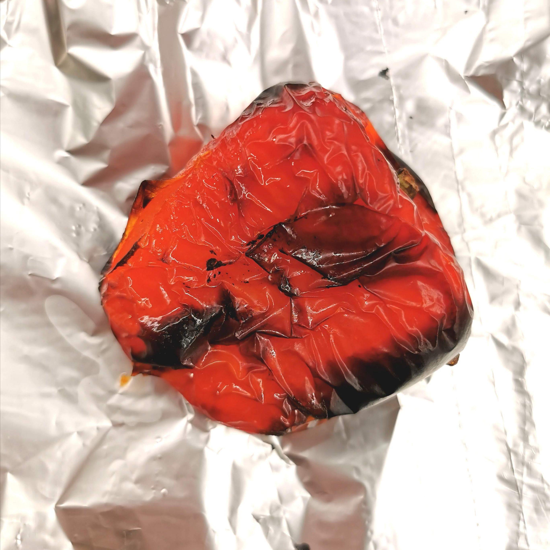 Lavkarbo ovnsbakt kylling med paprikasaus