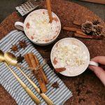 Lavkarbo varm kakao med krem