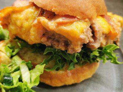 Lavkarbo cheeseburgerform