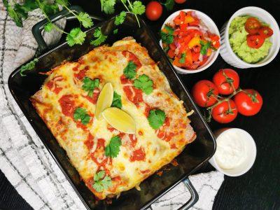 Lavkarbo enchiladas