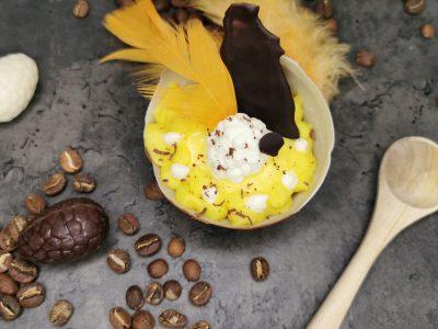 Lavkarbo sjokoladeegg med fyll