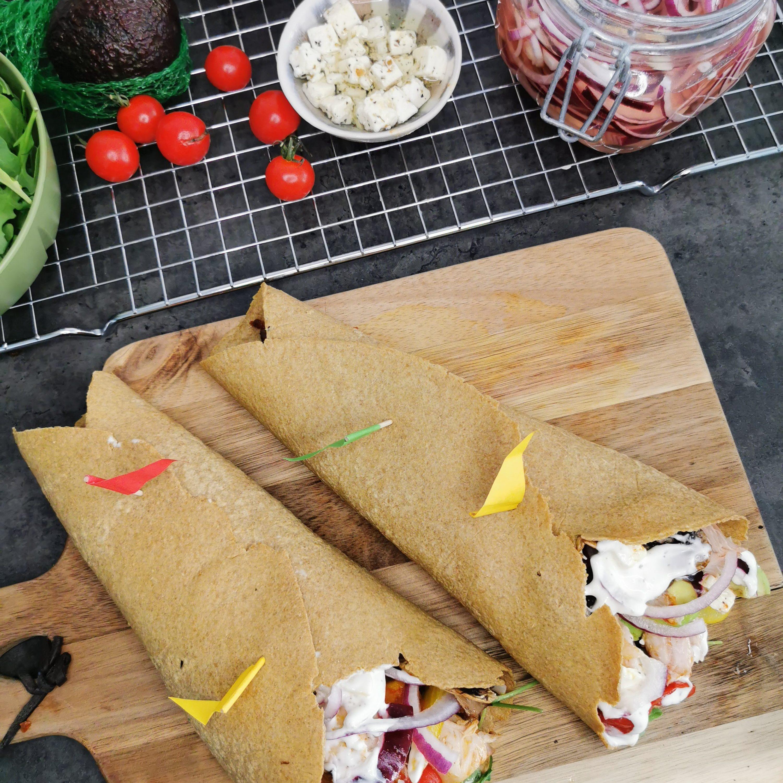 Lavkarbo keto tortillalefser