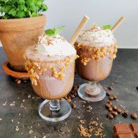 Lavkarbo kaffe mocca milkshake