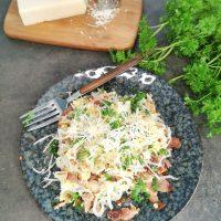 Lavkarbo monster miracle spaghetti carbonara