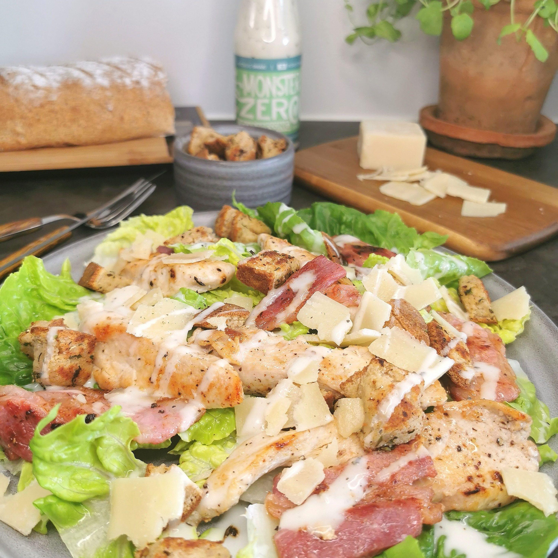 Lavkarbo cæsarsalat