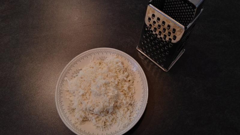 Lavkarbo ris av blomkål
