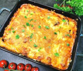 Lavkarbo vegetar aubergine – grateng