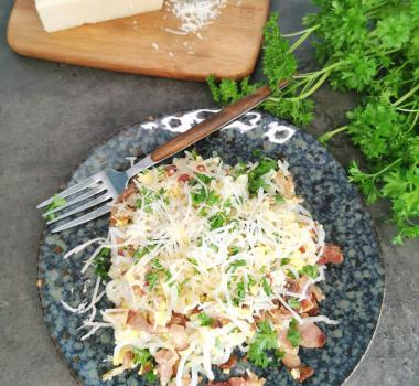 Lavkarbo miracle spaghetti carbonara